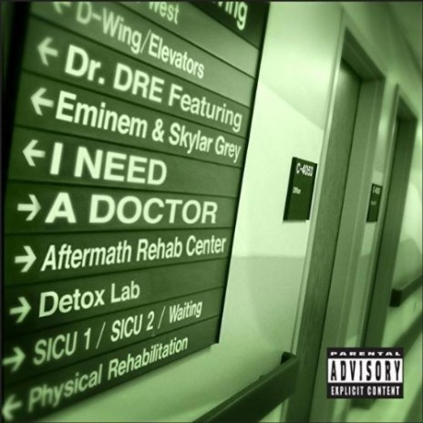 Dr. Dre featuring Eminem & Skylar Grey - I Need A Doctor (Artwork)