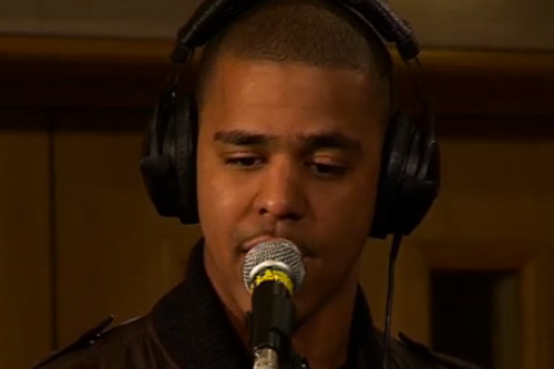 "J. Cole - ""Who Dat"" & ""In The Morning"" (Live at BBC)"
