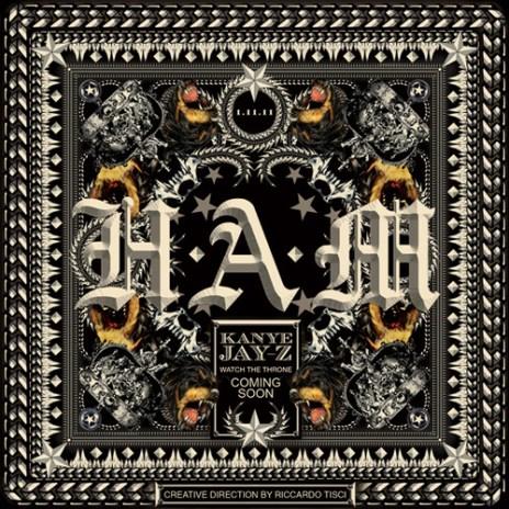 Kanye West & Jay-Z - H.A.M. (Artwork)