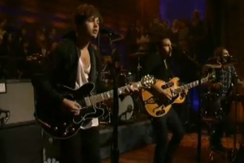 Local Natives - Wide Eyes (Live on Fallon)
