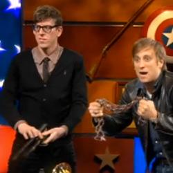 The Black Keys & Ezra Koenig Battle For Best Alternative Rock Album At The Colbert Report