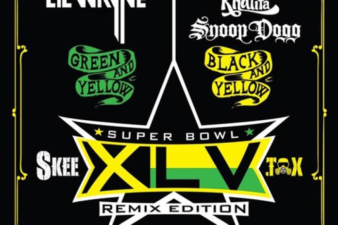 DJ Skee - Super Bowl XLV SKEETOX Remix Edition featuring Lil Wayne, Wiz Khalifa & Snoop Dogg