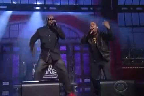 "Naughty By Nature - Performance on ""Late Show with David Letterman"""