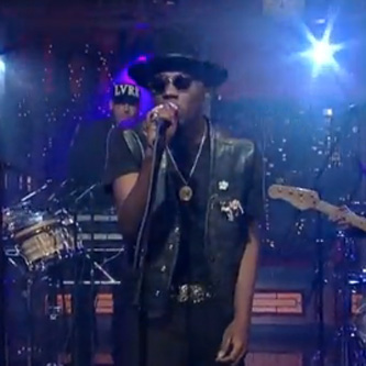 Theophilus London - Why Even Try (Live on Letterman)
