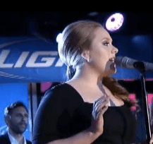 Adele - Rolling in the Deep & Someone Like You (Live on Kimmel)