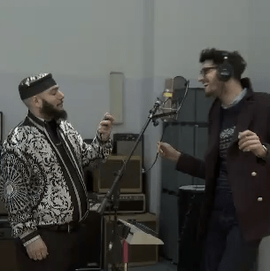 Chromeo Make the World's Smallest Album