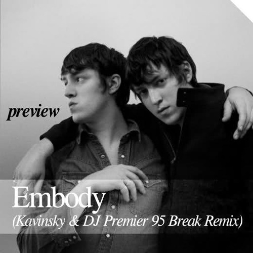 SebastiAn - Embody (Kavinsky & DJ Premier '95 Break Remixes) (Preview)