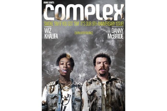 Wiz Khalifa and Danny McBride Cover Complex