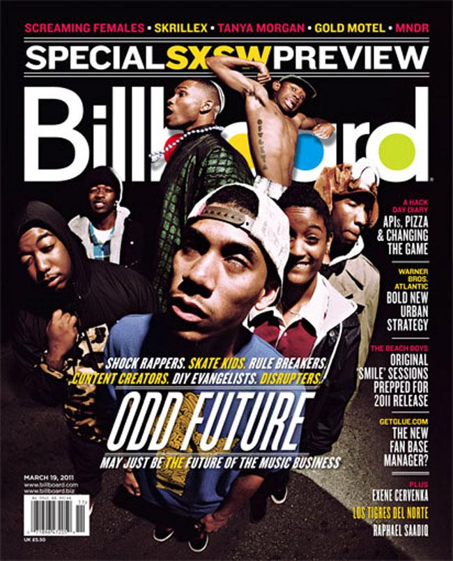 Odd Future Covers Billboard Magazine