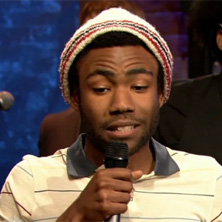 Childish Gambino on Late Night with Jimmy Fallon