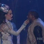 Katy Perry featuring Kanye West - E.T. (American Idol)