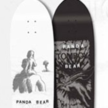Panda Bear's Tomboy: The Skateboard