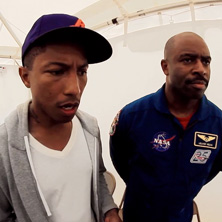 NASA & STEM with Pharrell Williams & Leland Melvin