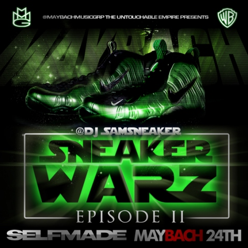 Maybach Music Group Sneaker Warz Episode II