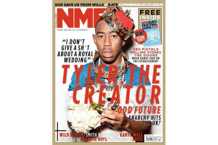 Tyler, the Creator Covers NME Magazine