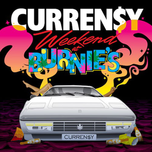 Curren$y - Weekend at Burnie's (Artwork)