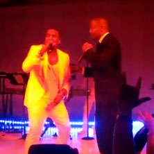 Kanye West featuring Jamie Foxx - Gold Digger (Cannes 2011 Performance)