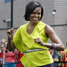 Michelle Obama & Beyoncé Dance Off