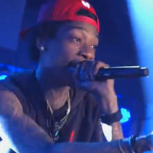 Wiz Khalifa - Roll Up (Live on Kimmel)