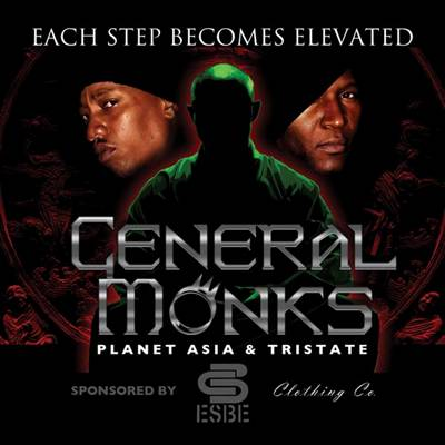 General Monks (Planet Asia & TriState) - Each Step Becomes Elevated (Album)
