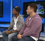 Pharrell on CNBC's Power Lunch
