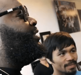 Rick Ross Meets Manny Pacquiao