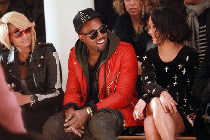 Kanye West Working on High-End Fashion Label?