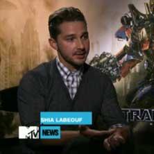 "Shia LaBeouf talks ""Marijuana"" video"