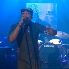 Talib Kweli performs on 'The Colbert Report'