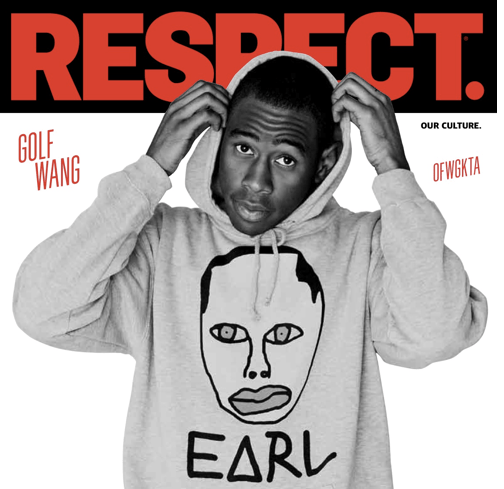 Tyler, the Creator covers RESPECT magazine