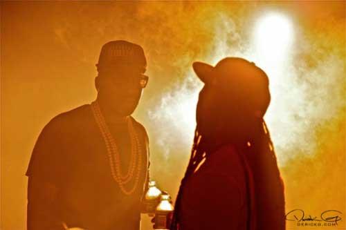 Young Jeezy featuring Lil Wayne - Ballin'