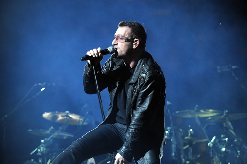 Bono denies reports of being hospitalized with chest pains