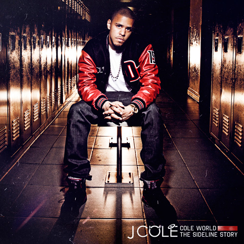 J. Cole - Cole World: The Sideline Story (Album Cover Art)