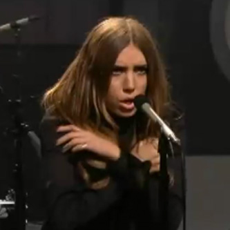 Lykke Li - Youth Knows No Pain (Live on Leno)