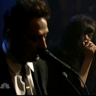 The Kills - Future Starts Slow (Live on Fallon)