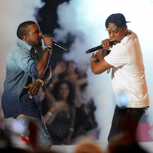 Jay-Z & Kanye West (The Throne) - Otis (MTV VMA Performance)