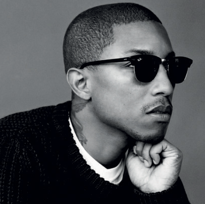 Pharrell Williams on new records he's producing
