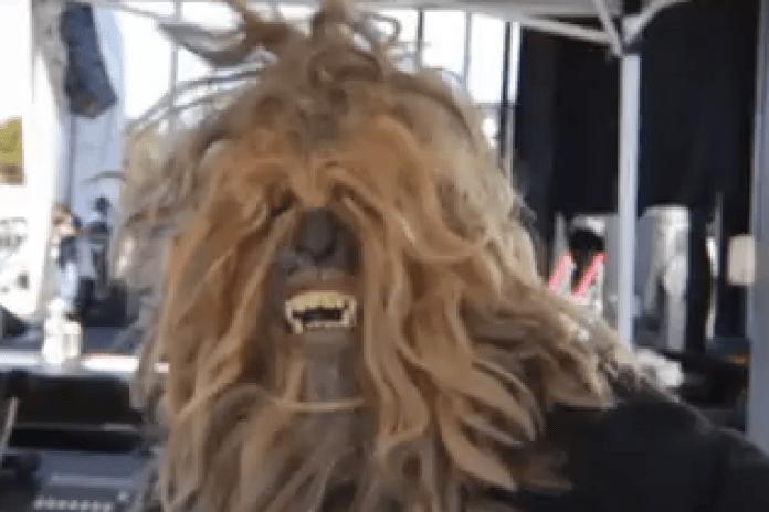 Random Axe - Chewbacca