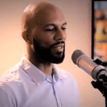 Common presents a new verse from his new album