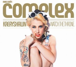 Kreayshawn covers Complex