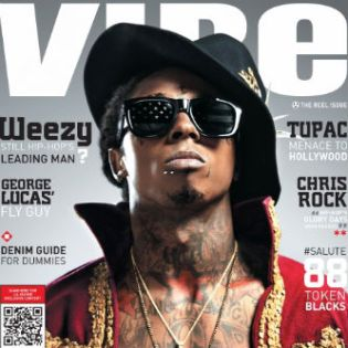 Lil Wayne covers VIBE