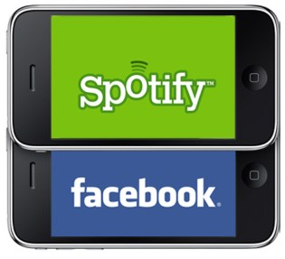 Facebook teams up with Spotify