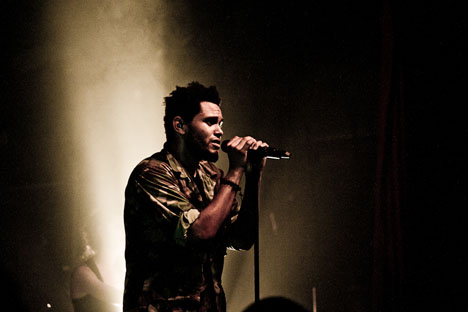 The Weeknd announces debut U.S. show