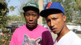Pharrell remembers his first meeting with Odd Future