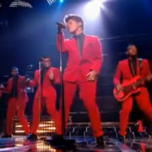 Bruno Mars - Runaway Baby (Live on X Factor)