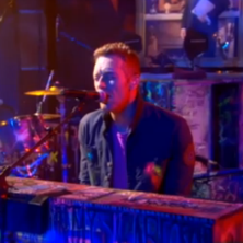 Coldplay performs at The Colbert Report