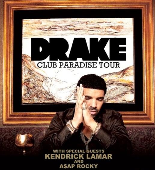 Drake announces Club Paradise Tour with Kendrick Lamar & ASAP Rocky
