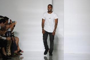 Kanye West DW Spring 2012 Show Paris Fashion Week