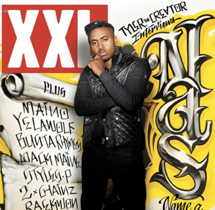 Nas covers XXL's November issue