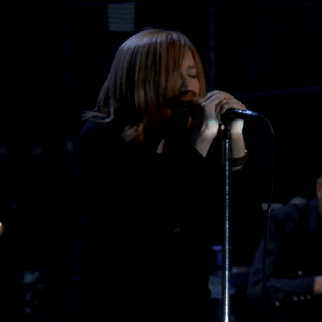 Portishead perform on Fallon